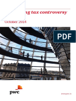 Navigating Tax Controversy in India October 2014