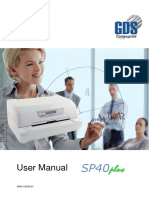 SP40plus User Manual