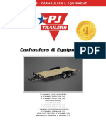 Web Carhaulers Equipment PJ Trailers