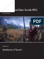 UESRPG 2e Supplement - Inhabitants of Tamriel (v1.01)