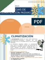 Sistemas Pasivos de Climatizacion