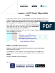 Parallel Resonance - GATE Study Material in PDF