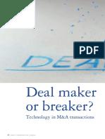 Deal Maker or Breaker