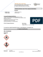 Mifeprestone SAFETY DATA SHEET (MSDS) Taj Pharma