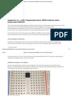 Raspberry Pi_ 1-Wire Temperatursensor 18B20 Auslesen Unter Linux Und CODESYS › Florianmai.de