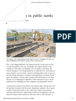 Cost Overruns in Public Works _ the Daily Star