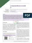 Pneumotorax recurrente - dermatomiositis