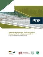 PKGP (2013) Comparative Assessment of District Disaster Management Units