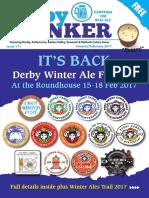 CAMRA Derby Drinker JANUARY FEBRUARY 2017