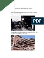 Kerusakan Struktur Akibat Gempa