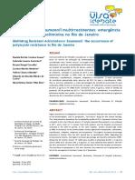 Acinetobacter Baumannii Multirresistentes- Emergência de Resistência... (1)