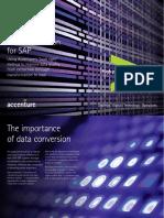 Accenture Data Conversion for SAP Brochure