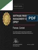Product School Certificate