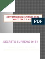 Decreto Supremo 181