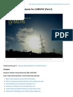 Electrical Safety Standards for LVMVHV Part-3