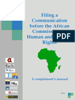 1307 Manual to the African Commission