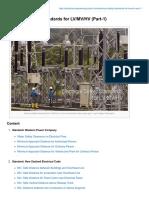 Electrical Safety Standards for LVMVHV Part-1