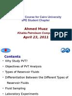 62473989 PVT Short Course for Cairo University