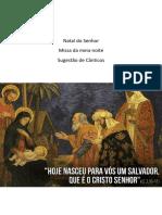 Solenidade - Natal Do Senhor - Missa Da Noite