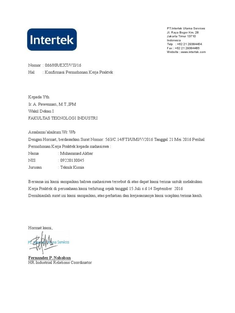 Surat Balasan Magangdocx
