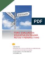 Informe de Ponencia_foro Jose Macias