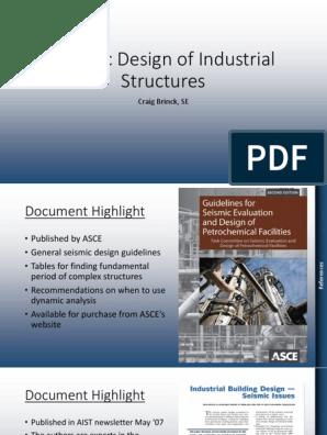 Seismic Design of Industrial Structures   Corrosion   Crane (Machine)