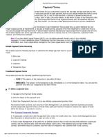 Payment Terms (Oracle Receivables Help)