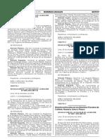 Nombran fiscales en los Distritos Fiscales de Cañete Huaura Lima y Pasco