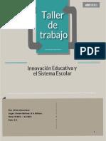 Taller Innovacion Educativa de EDEtaldea