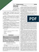 Derogan la Ordenanza N° 013-2015-MPC que aprobó la creación de la Sub Gerencia de la Juventud dependiente de la Gerencia de Desarrollo Social y Humano