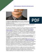 Acuerdo Confidencialidad y Protección de Datos