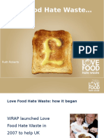 Avoiding Food Waste Presentation