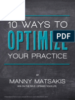 10 Ways to Optimize Your Practice