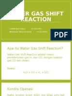 Water Gas Shift Reaction