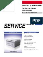 Manual de Serviço Samsung SCX4200