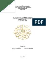 Isik - Kuyud-i Kadime Arsiv Katalogu.pdf