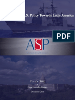 The Future of US Policy Towards Latin America