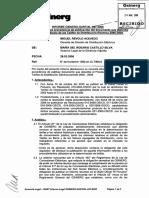 Informe Técnico Osinerg Gart Al 047 2006