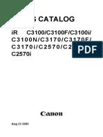 CANON IR C2570 C3100 C3170