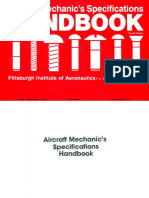 Aircraft Mechanics Specification Handbook