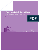 Fabrique Synthese Futuribes Attractivite Des Villes
