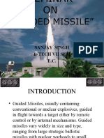 Seminar on Guided Missile Systems