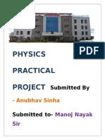 Physics Practical Projec1