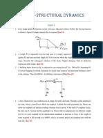 Structural Dyanmics-anna university q paper