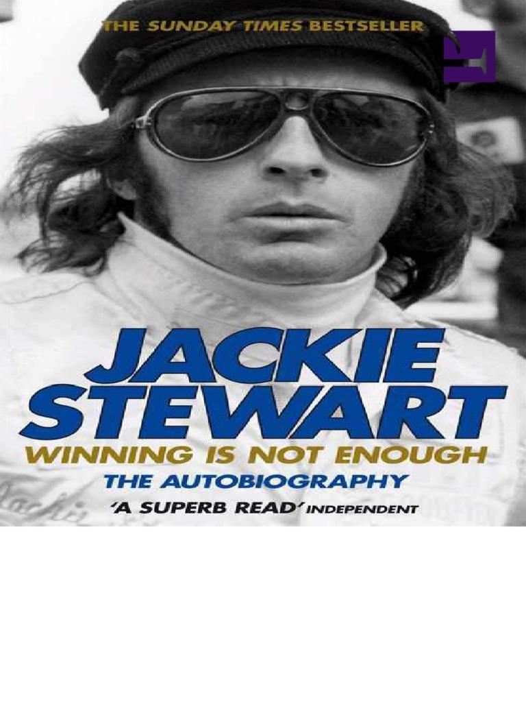Jackie Stewart Autobiography   Formula One   Sports