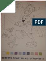 Carte de Colorat Iepuras Colgate