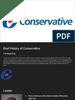 conservative  1