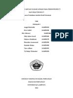 analisis hasil pertanian