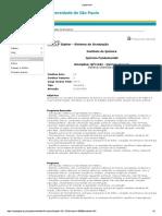 Programa Qfl1101 - Química Geral i