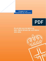 Plan de Salud Mental Para Asturias 2011-2016